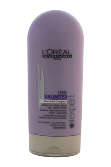 Serie Expert Liss Unlimited Keratinoil Complex Conditioner by L'Oreal Professional for Unisex - 5 oz Conditioner