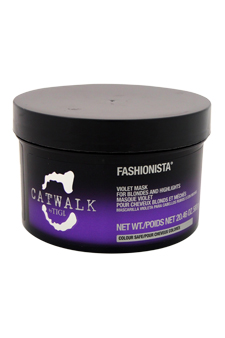 Catwalk Fashionista Violet Mask For Blondes And Highlights by TIGI for Unisex - 20.46 oz Mask