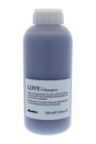 Love Lovely Smoothing Shampoo for Harsh & Frizzy Hair by Davines for Unisex - 33.8 oz Shampoo