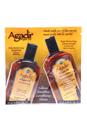 Agadir Oil Daily Moisturizing Shampoo & Conditioner Duo by Agadir for Unisex - 2 x 0.33 oz Shampoo & Conditioner