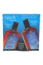 Argan Oil Daily Volumizing Shampoo & Conditioner Duo by Agadir for Unisex - 2 x 0.33 oz Shampoo & Conditioner
