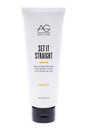 Set It Straight Argan Straightening Lotion by AG Hair Cosmetics for Unisex - 5 oz Lotion