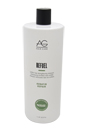 Refuel Sulfate-Free Strengthening Shampoo by AG Hair Cosmetics for Unisex - 33.8 oz Shampoo