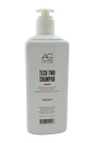 Tech Two Protein-Enriched Shampoo by AG Hair Cosmetics for Unisex - 64 oz Shampoo