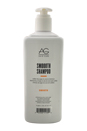Smoooth Sulfate-Free Argan & Coconut Shampoo by AG Hair Cosmetics for Unisex - 64 oz Shampoo
