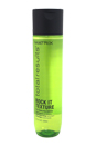 Total Results Rock It Texture Shampoo by Matrix for Unisex - 10.1 oz Shampoo