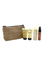 Bamboo Smooth on The Go Travel Kit by Alterna for Unisex - 4 Pc Kit 1.35oz Bamboo Smooth Anti-Frizz Shampoo, 1.35oz Bamboo Smooth Anti-Frizz Conditioner, 0.85oz Bamboo Smooth Kendi Dry Oil Mist, 1.5oz Bamboo Smooth Anti-Humidity Hair Spray