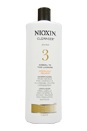 System 3 Cleanser For Fine Chemically Enhanced Hair by Nioxin for Unisex - 33.8 oz Cleanser