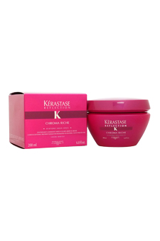 Reflection Chroma Riche Treatment Masque by Kerastase for Unisex - 6.8 oz Masque
