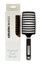 Ceramic + Ionic Vent Brush - Black by Keratin Complex for Unisex - 1 Pc Hair Brush