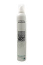 Tecni Art Full Volume Extra Force 5 Strong Hold Mousse by L'Oreal Professional for Unisex - 400 ml Mousse