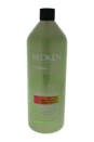 Curvaceous Low Foam Moisturizing Cleanser by Redken for Unisex - 33.8 oz Cleanser
