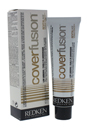 Cover Fusion Low Ammonia - # 4NBc Natural Brown Copper by Redken for Unisex - 2.1 oz Hair Color