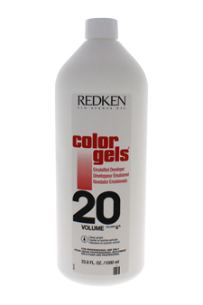 Color Gels Emulsified Developer 20 Volume by Redken for Unisex - 33.8 oz Treatment