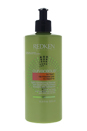 Curvaceous No Foam Highly Conditioning Cleanser by Redken for Unisex - 16.9 oz Cleanser