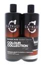 Catwalk Fashionista Brunette Duo by TIGI for Unisex - 25.36 oz Shampoo & Conditioner