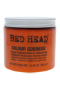 Bed Head Colour Goddess Miracle Treatment Mask For Coloured Hair by TIGI for Unisex - 20.46 oz Mask