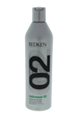 Satinwear 02 Ultimate Blow-Dry Lotion by Redken for Unisex - 16.9 oz Lotion