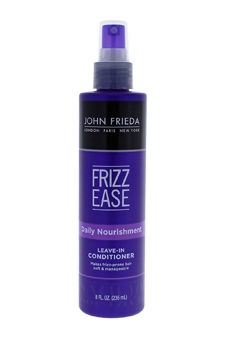 Frizz Ease Daily Nourishment Leave-In Conditioning Spray by John Frieda for Unisex - 8 oz Hair Spray