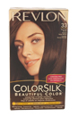 colorsilk Haircolor #33 Dark Soft Brown 3WB by Revlon for Unisex - 1 Application Hair Color