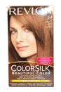 ColorSilk Beautiful Color #54 Light Golden Brown by Revlon for Unisex - 1 Application Hair Color