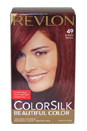 colorsilk Beautiful Color #49 Auburn Brown by Revlon for Unisex - 1 Application Hair Color