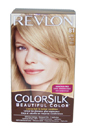 colorsilk Beautiful Color #81 Light Blonde by Revlon for Unisex - 1 Application Hair Color