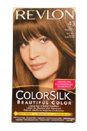 ColorSilk Beautiful Color #43 Medium Golden Brown by Revlon for Unisex - 1 Application Hair Color