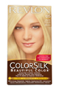 ColorSilk Beautiful Color #05 Ultra Light Ash Blonde by Revlon for Unisex - 1 Application Hair Color