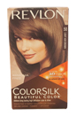 colorsilk Beautiful Color #50 Light Ash Brown by Revlon for Unisex - 1 Application Hair Color