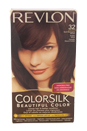 ColorSilk Beautiful Color #32 Dark Mahogany Brown by Revlon for Unisex - 1 Application Hair Color