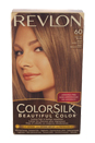 colorsilk Beautiful Color #60 Dark Ash Blonde by Revlon for Unisex - 1 Application Hair Color