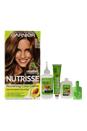 Nutrisse Nourishing Color Creme #63 Light Golden Brown by Garnier for Unisex - 1 Application Hair Color