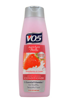 Moisture Milks Strawberries & Cream Conditioner by Alberto VO5 for Unisex - 15 oz Conditioner