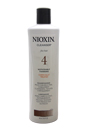 System 4 Cleanser For Fine Chemically Enh. Noticeably Thinning Hair by Nioxin for Unisex - 16.9 oz Cleanser