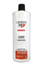 System 4 Cleanser For Fine Chemically Enh. Noticeably Thinning Hair by Nioxin for Unisex - 33.8 oz Cleanser