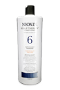 System 6 Scalp Therapy Cond. For Med./Coarse Nat. Noticeably Thin.Hair by Nioxin for Unisex - 33.8 oz Conditioner