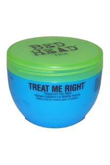 Bed Head Treat Me Right Peppermint Hair Mask by TIGI for Unisex - 8 oz Mask $ 12.99