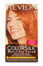 colorsilk Beautiful Color #45 Bright Auburn by Revlon for Unisex - 1 Application Hair Color