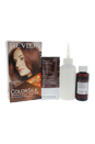 ColorSilk Beautiful Color #55 Light Reddish Brown by Revlon for Unisex - 1 Application Hair Color