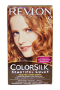 Colorsilk Haircolor #72 Strawberry Blonde 7R by Revlon for Unisex - 1 Application Hair Color