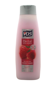 Herbal Escapes Sun Kissed Rasberry Balancing Conditioner by Alberto VO5 for Unisex - 15 oz Conditioner