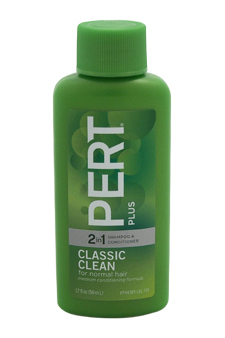 Classic clean 2 in 1 Shampoo & Conditioner For Normal Hair by Pert Plus for Unisex - 1.7 oz Shampoo & Conditioner