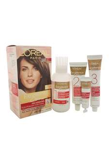Excellence Creme Pro - Keratine # 5AB Mocha Ash Brown - Cooler by L'Oreal Paris for Unisex - 1 Application Hair Color