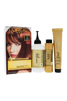 Superior Preference Fade-Defying Color # 6R Light Auburn - Warmer by L'Oreal Paris for Unisex - 1 Application Hair Color
