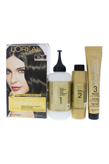 Superior Preference Fade-Defying Color # 5A Medium Ash Brown - Cooler by L'Oreal Paris for Unisex - 1 Application Hair Color