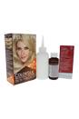 colorsilk Beautiful Color # 80 Light Ash Blonde by Revlon for Unisex - 1 Application Hair Color