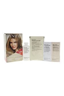 Frost & Glow Honey Highlighting Kit Medium to Dark Brown Hair by Revlon for Unisex - 1 Application Hair Color