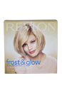Frost & Glow Blonde Highlighting Kit Blonde To Light Brown Hair by Revlon for Unisex - 1 Application Hair Color