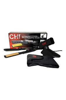 Wet to Dry Ceramic Flat Iron # GF1001WD by CHI for Unisex - 1 Pc Flat Iron